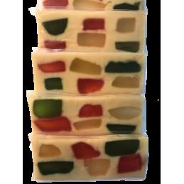 turrón de frutas artesano 250g